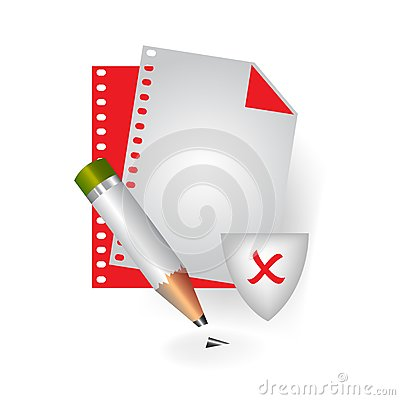 Bad file icon