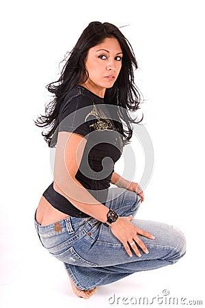 Free Bad Girl. Royalty Free Stock Photo - 4762085
