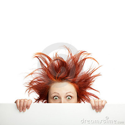 Free Bad Hair Day Royalty Free Stock Image - 22734836