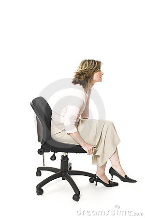 Free Bad Posture Royalty Free Stock Photography - 753827