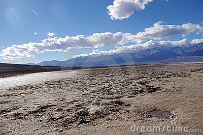 Bad water at death valley