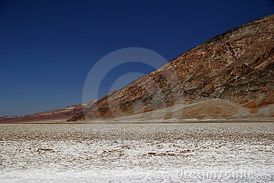Bad water of Death Valley