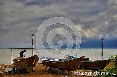 Bad weather around Koh Chang-2