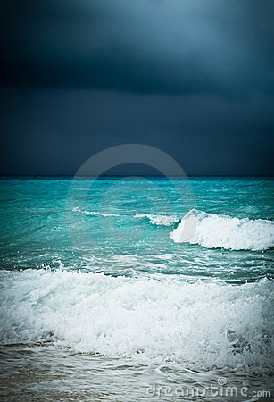 Bad weather seascape