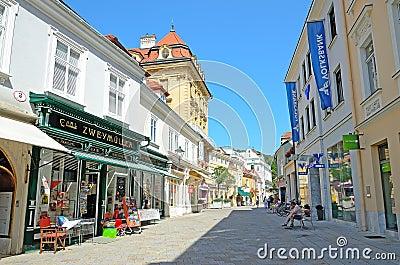 Baden, Austria Editorial Photo