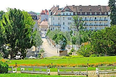 Baden, Austria Editorial Stock Image
