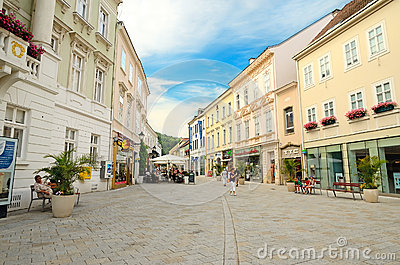 Baden, Austria Editorial Stock Photo