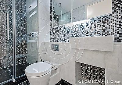 Mosaik Im Badezimmer Lizenzfreies Stockfoto - Bild: 36971705 Mosaik Fliesen Badezimmer
