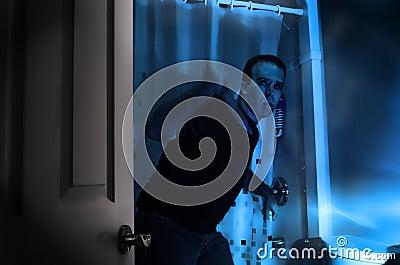 Badezimmer-Mord