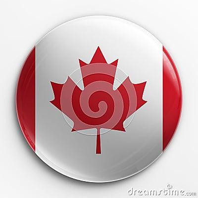 Badge - Canadian flag