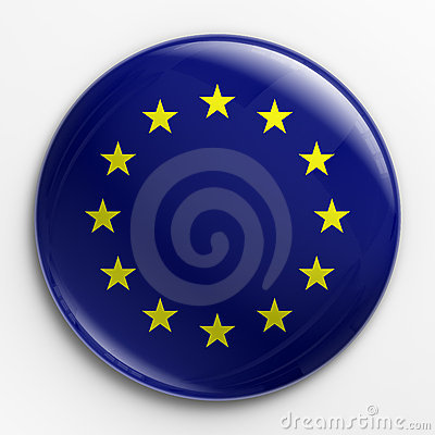 Badge - flag of Europe