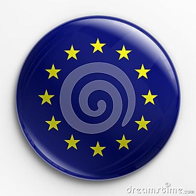 Badge - flag of Europe