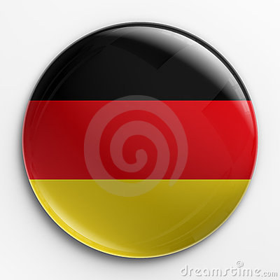 Badge - German flag