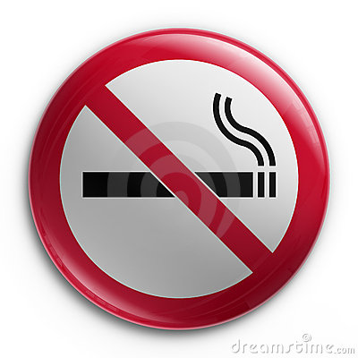Badge - No smoking