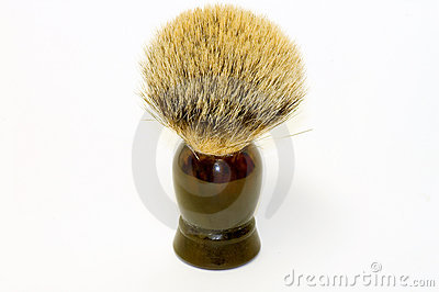 Badger fur shaving brush