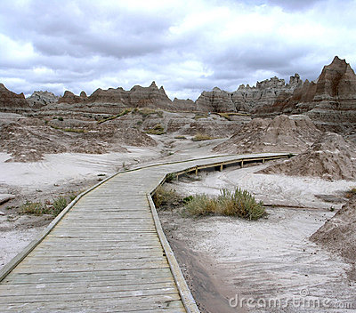 Badlands Boardwalk
