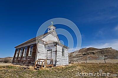 Badlands church