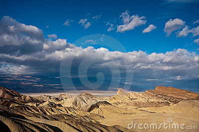 Badlands in Death Valley
