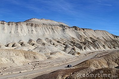 USA, Calif.: Death Valley - badlands