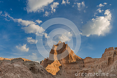 Badlands Skyline