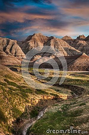 Free Badlands - South Dakota Stock Photos - 25157463