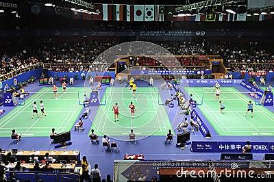 Badminton asia championships 2011 Editorial Image