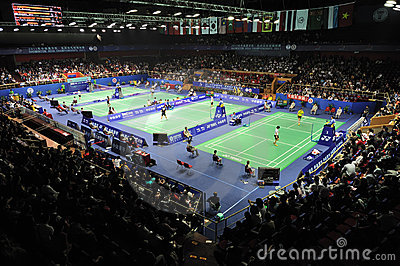 Badminton asia championships 2011 Editorial Photo
