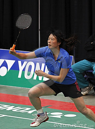 Badminton australia tournament speed Editorial Photo