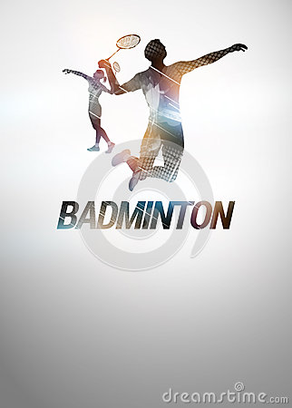 Free Badminton Background Royalty Free Stock Photos - 37686218