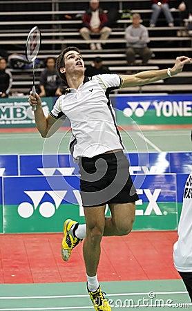 Badminton brazil racket Editorial Photo