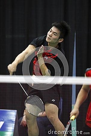 Badminton canada competitive Editorial Photo