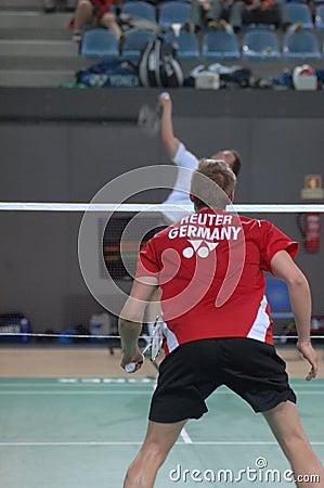 Badminton championship Editorial Photography
