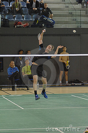 Badminton championship Editorial Photography