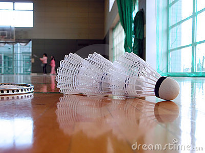 Badminton indoor