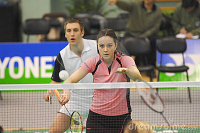 Badminton - Martyn Lewis WAL, Emma Mason SCO