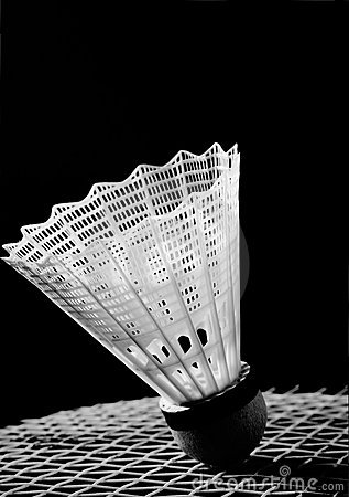 Free Badminton Shuttlecock Royalty Free Stock Photo - 4762665