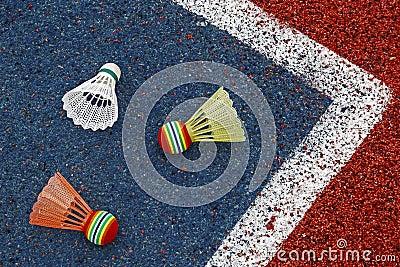 Badminton shuttlecocks-4