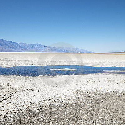 Free Badwater Basin In Death Valley. Stock Photos - 2042263