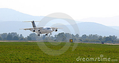 BAe Systems British Aerospace BAe 146-200 Editorial Stock Image