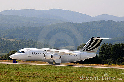 BAe Systems British Aerospace BAe 146-200 Editorial Photo