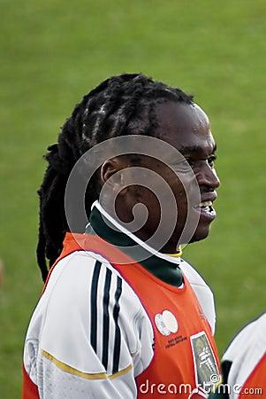 Bafana Bafana Soccer Team Member Editorial Photography