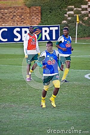 Bafana Bafana in Training Editorial Photography