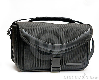 Bag for camera Stock Photo