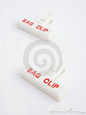 Bag clips.