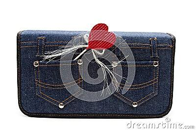 Bag with dear symbol
