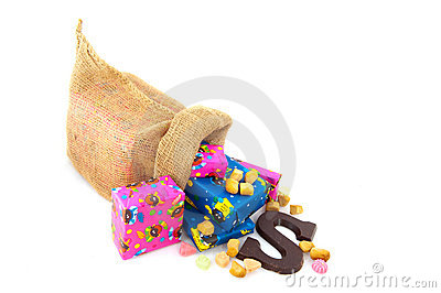 Bag From Dutch Sinterklaas Royalty Free Stock Photo - Image: 11081265
