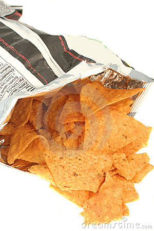 Free Bag Of Chips Royalty Free Stock Photos - 1507938