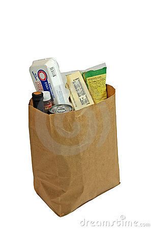 Free Bag Of Groceries 2 Royalty Free Stock Photo - 368325