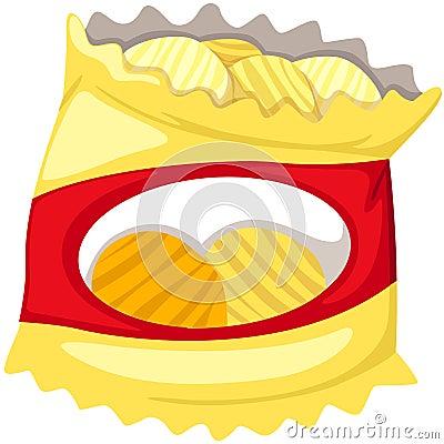 Free Bag Of Potato Chips Stock Image - 20929411
