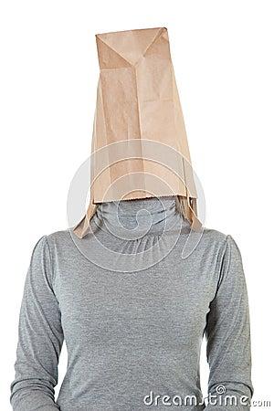 Free Bag On Head Stock Photography - 14624682
